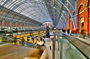 Stansted to St Pancras station taxi Service